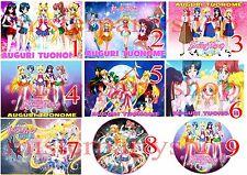 Cialda - Ostia per torte Sailor Moon Crystal Anche personalizzabile o tonda o A3