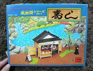 JAPANESE Sushi ( Sushi SHOP ) 1/60 MODEL KIT KAWAI JAPAN