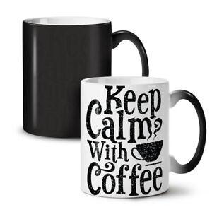 Keep Calm NEW Colour Changing Tea Coffee Mug 11 oz | Wellcoda