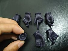 "1//6 Scale Female Black Gloved Hands Gun Hold For 12/"" PHICEN Hot Toys Figure USA"