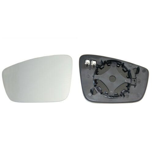 SEAT TOLEDO 2012 Chauffé /& base côté gauche /> 2019 Porte//Aile Miroir Verre Convexe