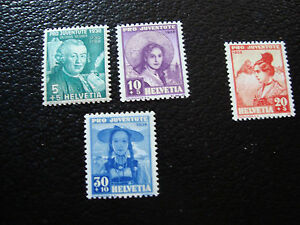 switzerland-stamp-yvert-and-tellier-N-316-317-319-n-318-n-A5-stamp-switzerland