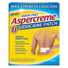 ASPERCREME Lidocaine Patches 5 ea