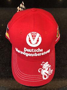 Ferrari-Michael-Schumacher-7-Time-World-Champ-Special-Collectors-Edition-Cap-NWT