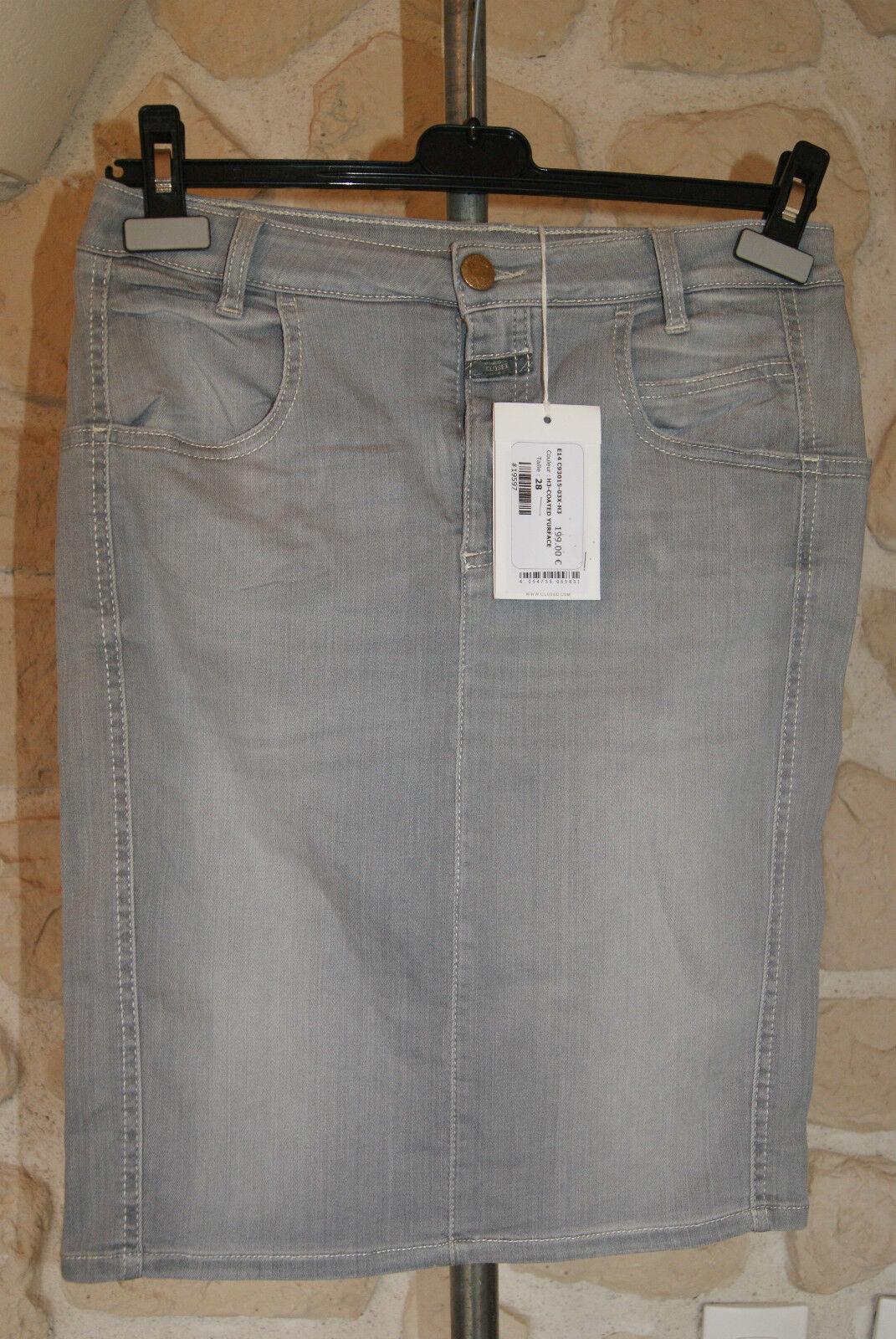 Jupe en jeans neuve size 31 (fr 41) marque CLOSED étiqueté à