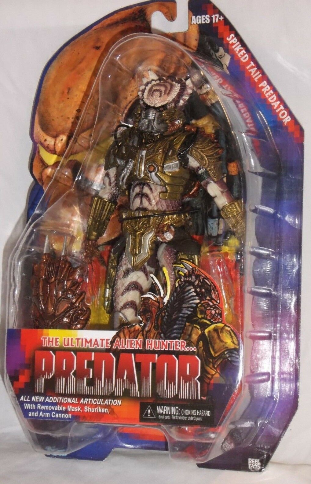 MISP  NECA ProssoATOR Series 16 SPIKED TAIL w  ARMOR horror movie 7  azione cifra  comprare a buon mercato