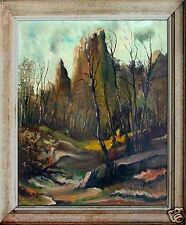 Top Gemälde Ernst Blanck, Künstler des 20. Jahrhundert, Waldlandschaft xxxxxxx