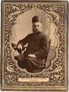 India-Maharaja-Shapoorji-Edulji-Chenai-Hyderabad-Vintage-Albumen-print-Tir