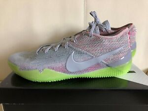 fe5c795a8f12 Nike Kobe AD NXT 360 Multicolor Wolf Grey Basketball Shoes AQ1087 ...