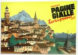 Cartolina Pagine Gialle Turismo 1990 - Piemonte | eBay