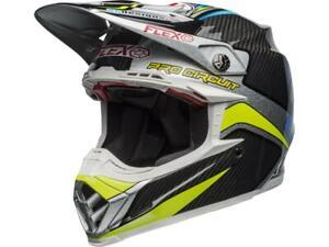 Casque-Motocross-BELL-Moto-9-Flex-Pro-Circuit-Replica-19-Carbone-bleu-gris