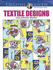 Creative Haven Textile Designs Coloring Book by Marjorie Sarnat (Paperback, 2016)