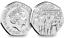 Beatrix-Potter-50p-Pieces-Cinquante-Pence-Peter-Rabbit-Tom-Chaton-Jeremy-Fisher miniature 26
