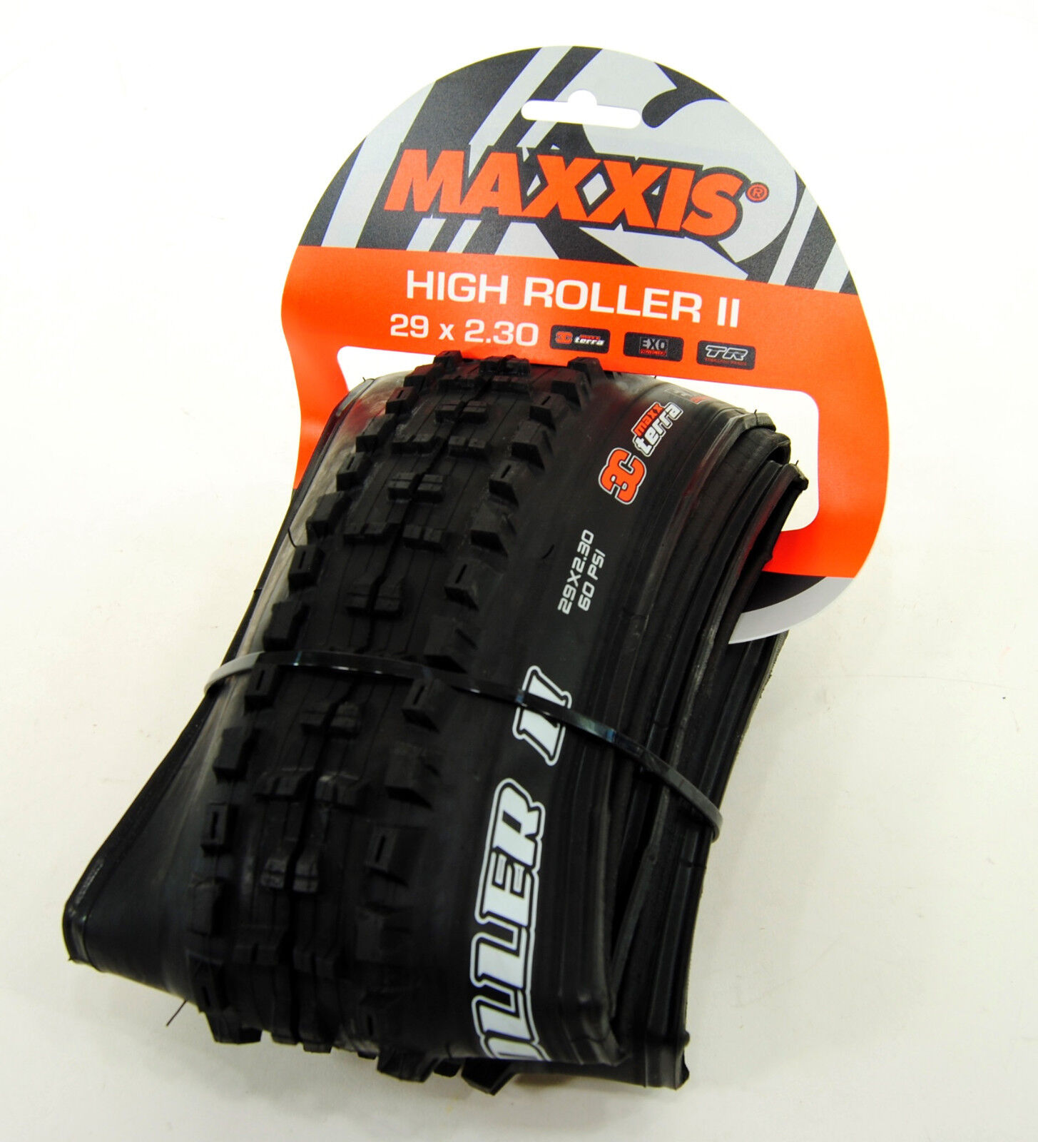 Maxxis High Roller II 29x2.3 3C EXO Tubeless Ready Mountain Bike Tire