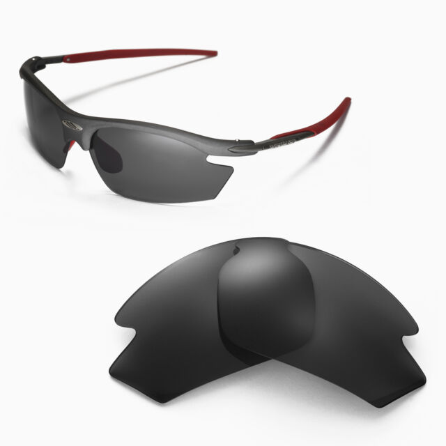 5593dc1577 New Walleva Polarized Black Replacement Lenses For Rudy Project Rydon  Sunglasses