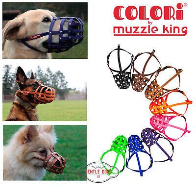 GPH Muzzle King Metall Maulkorb Hundemaulkorb Cocker 1 L/änge 8 cm//Umfang 24 cm