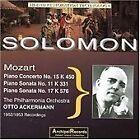 Wolfgang Amadeus Mozart - Mozart: Piano Concerto No. 15; Piano Sonata No. 11; Piano Sonata No. 17 (2005)