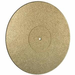 Sandwich Cork Turntable Record Mat Vinyl 5mm SAN LP Audiophile Product GERMANY !