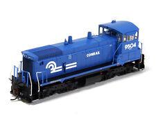 Athearn HO Scale EMD SW1500 Switcher Locomotive Conrail/CR Blue/White #9504