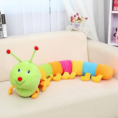 Cute Plush Colorful Inchworm Soft Developmental Half Meter For Child Toy Doll