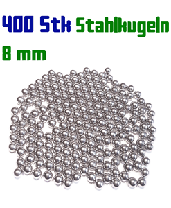 400-Stahlkugeln-8-mm-fuer-Steinschleuder-Zwille-Slingshot-Pocket-shot-Munition