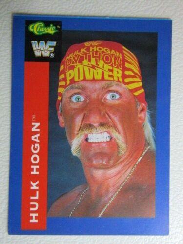 Classic WF Wrestling cartes 1991 par Classic Games AUTOGRAPHE CARTE variantes e3