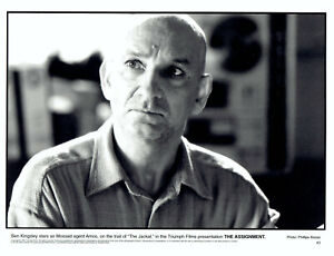 1997 Vintage Photo Ben Kingsley stars as Mossad agent in ...