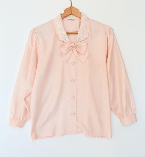 vintage hot pink top shirt blouse long sleeve petite skinny slim fit small xs medium neon sweater jumper minimal colorful 90 80s SHRUG SM