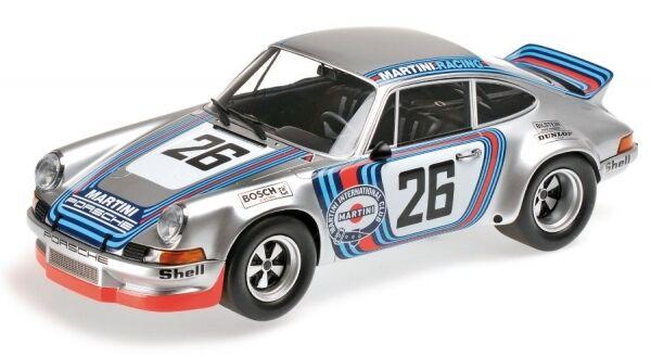 Porsche 911 carrera rsr 2.8 No. 26 Class winner 1000km Dijon 1973 (Müller-van L