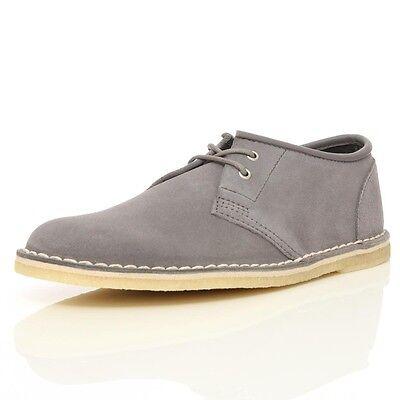 tumor Playa nosotros  Clarks Originals Mens ** JINK ANTHRACITE Suede Shoe * UK 7,,9,10,11,12 F |  eBay