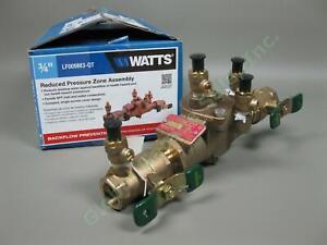 NEW-Watts-0391003-3-4-034-Female-Reduced-Pressure-Zone-Assembly-LF009M3-QT-NIB-NR