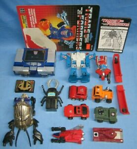 a Vintage lot of Transformers