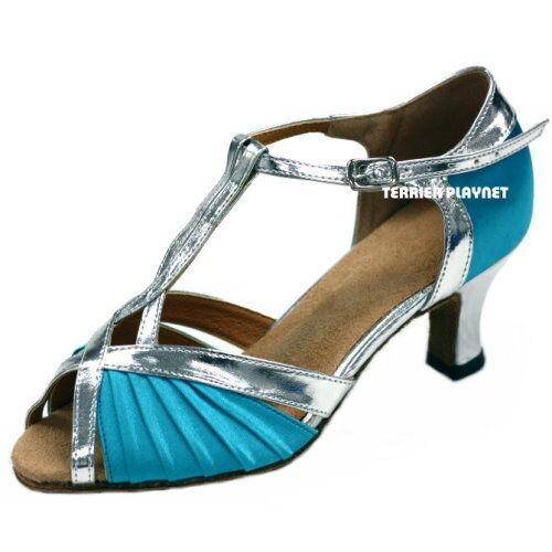TPS Latin Ballroom Salsa Custom-made Dance Shoes D188