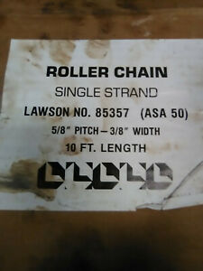 """Roller Chain #40 RanchEx 10 Feet x 1//2/"""" Pitch"""