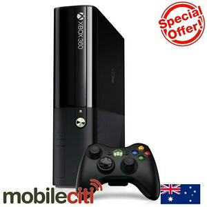 XBOX 360 E 4GB with Peggle 2 Game and Wireless Controller Black