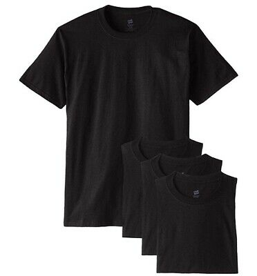 Hanes Mens ComfortSoft T-Shirt Pack Of 4 Light Steel, XXXX-Large