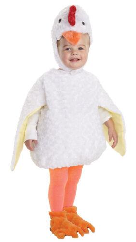 Chicken Toddler Costume Baby Plush Chick Animal Safari Adventure Halloween