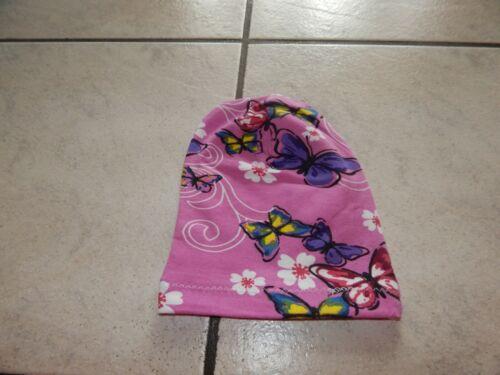 beaniemützen de jersey rose avec papillons Noeud bonnets