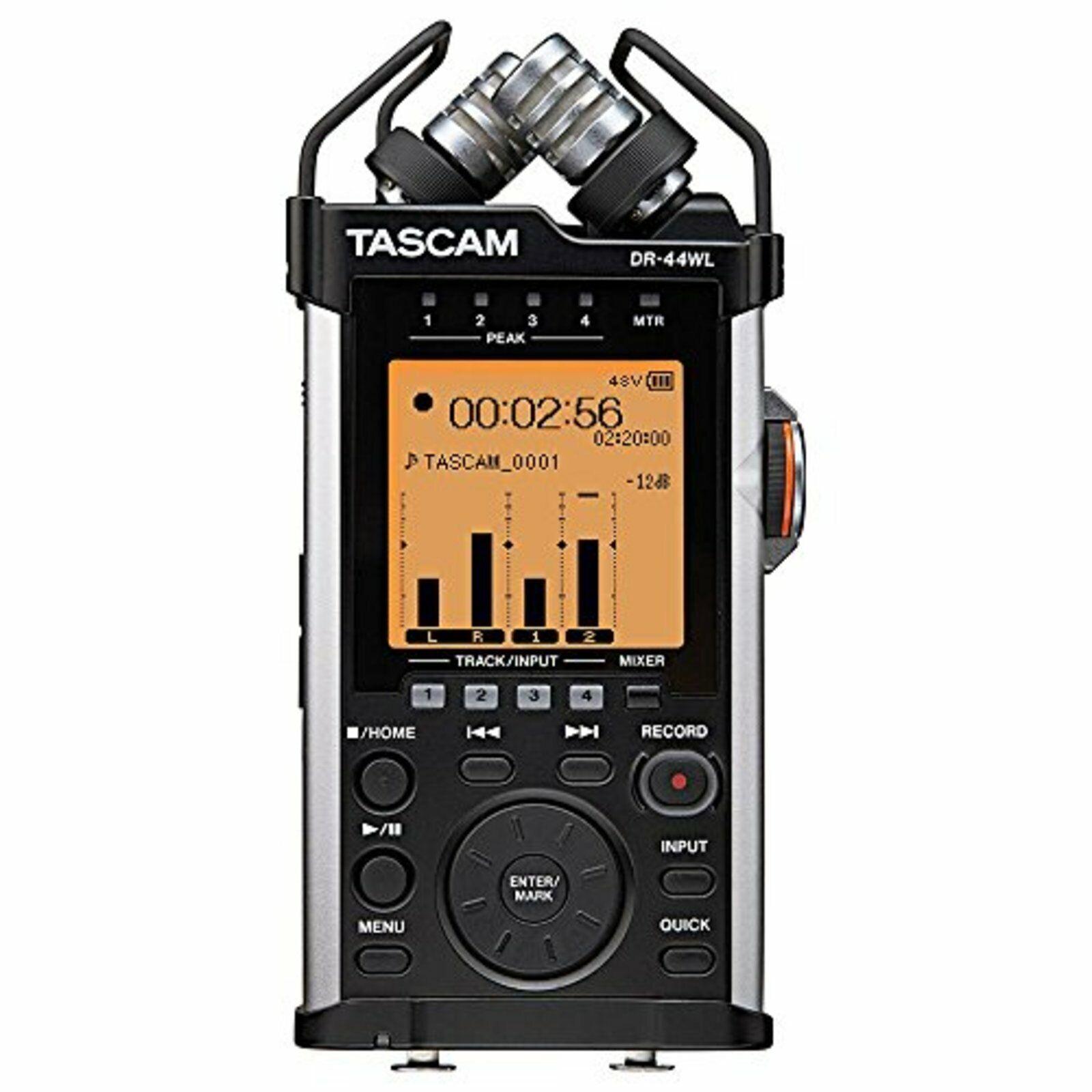 Tascam Linear Pcm Recorder Dr-44Wl Ver2-J Wi-Fi Fernbedienung Stoßdämpfer