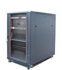 "Bonus Free!!! 22U 39"" Deep 19"" IT Free Standing Server Rack Cabinet Enclosure"