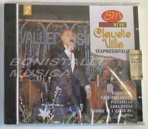 CLAUDIO-VILLA-SCAPRICCIATIELLO-CD-Sigillato-Super-Music-Vol-2