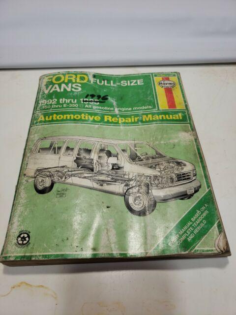 1 Haynes Repair Service 2119 Manual 36094 Book 1992-1995 Ford Full ...