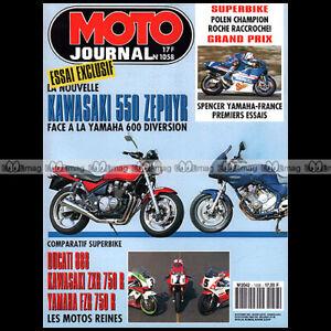 MOTO-JOURNAL-1058-ZXR-750-KAWASAKI-550-ZEPHYR-YAMAHA-OW-01-XJ-600-S-DUCATI-888