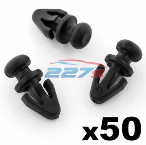 20x Grommet For Mercedes-Benz Lower Door Seal Weatherstrip Trim Clips Plastic
