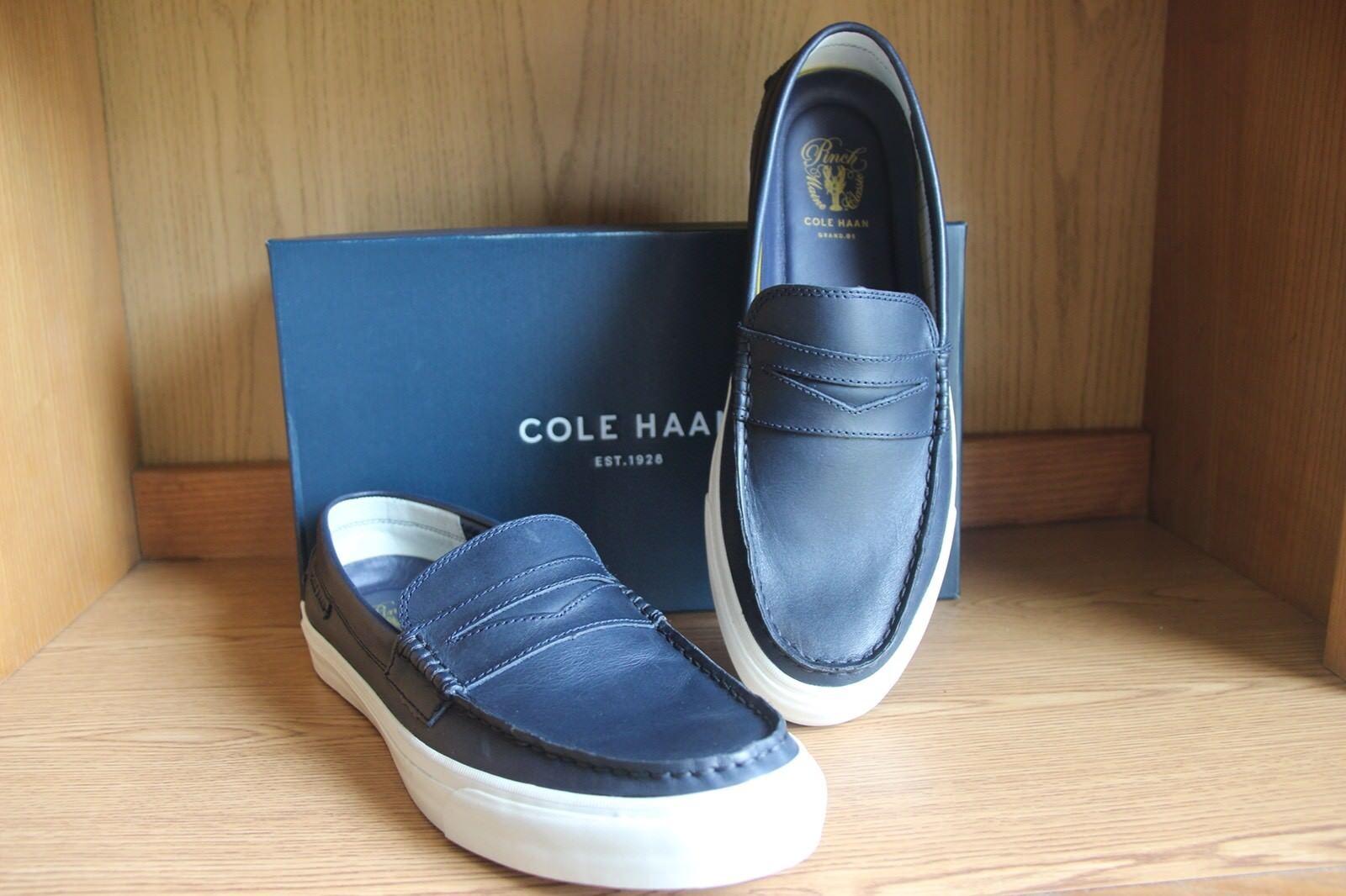 Scarpe casual da uomo  Cole Haan Pinch Weekender Navy Handstained Loafer Shoe uomo Size 11.5 C27243