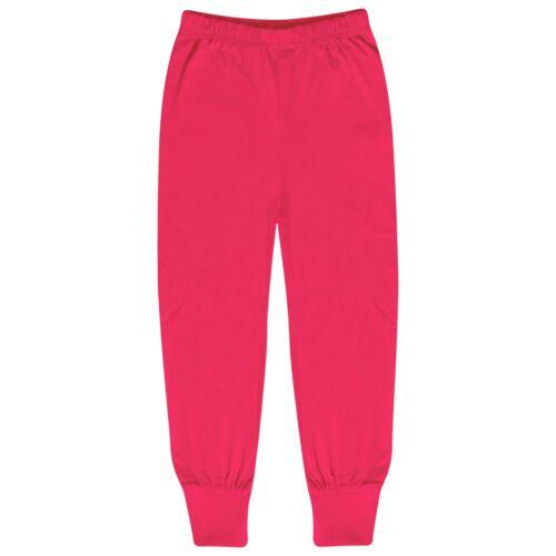 Kids Girls Wake Me When I/'M A Unicorn Pyjamas Nightwear Loungewear Pink PJS 5-13