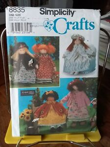 Oop-Simplicity-Crafts-8835-Elaine-Heigl-26-034-rag-doll-clothes-NEW