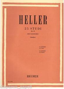 Heller: 25 Studien Op. 45 Für Klavier (R) - Erinnerungen
