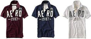 Aeropostale-mens-PIQUE-POLO-T-shirt-tee-XS-S-M-L-XL-2XL