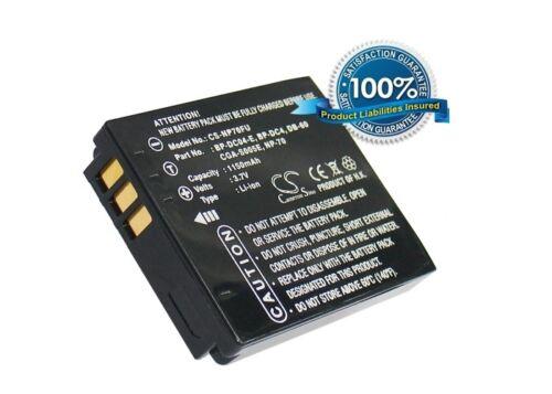 Li-ion Battery for Panasonic Lumix DMC-FX8-A CGA-S005A//1B Lumix DMC-FX9-K NEW